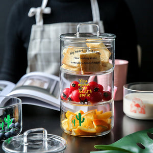 Heat-Resistant Airtight Glass Storage Jars