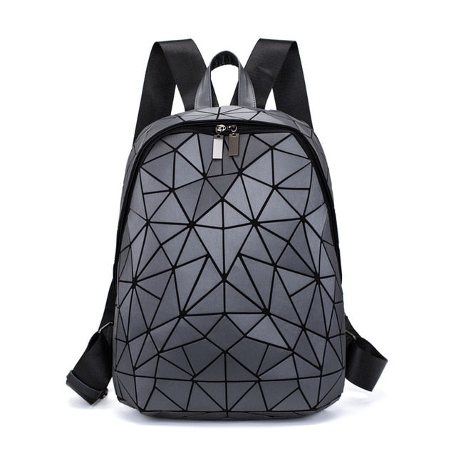 Geometric Luminous Back Pack Collection