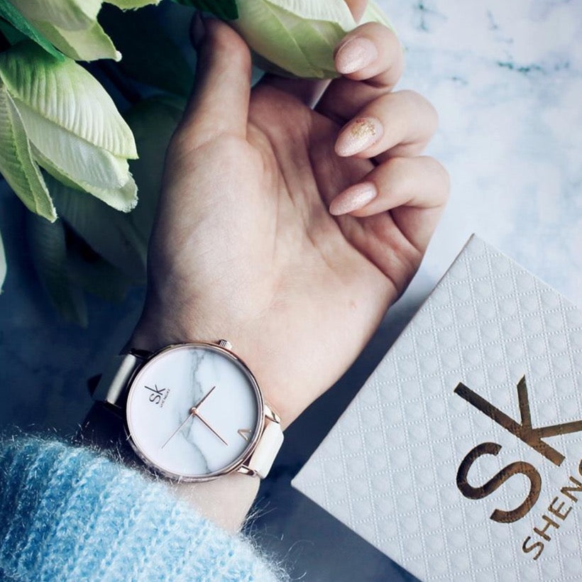 Marble Design Wristwatch Collection
