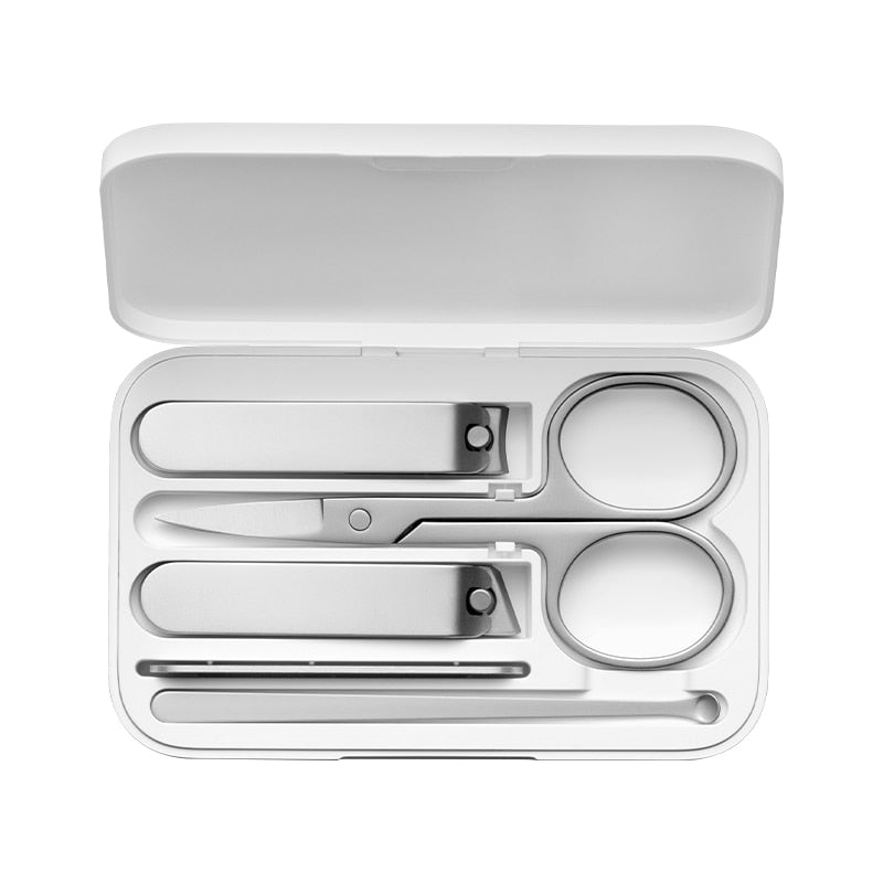 Minimalist Stainless-Steel Grooming Essentials Set