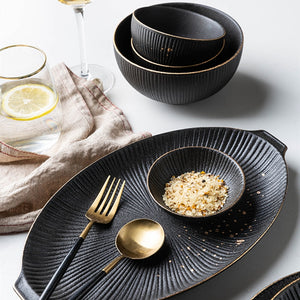 Trim Gold-Touch Dinnerware Collection
