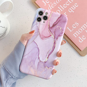 Gradient Marble iPhone Case