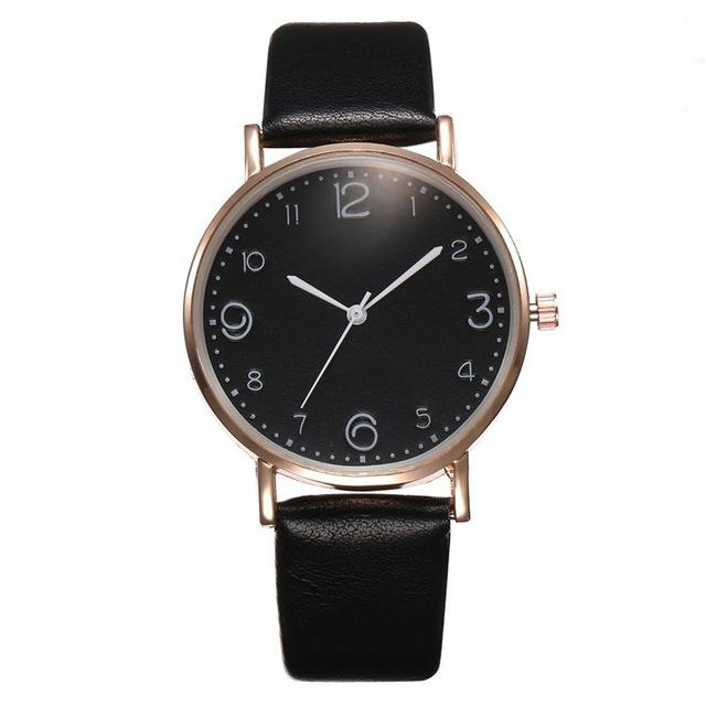 Leather Strap Wrist Watch Collection