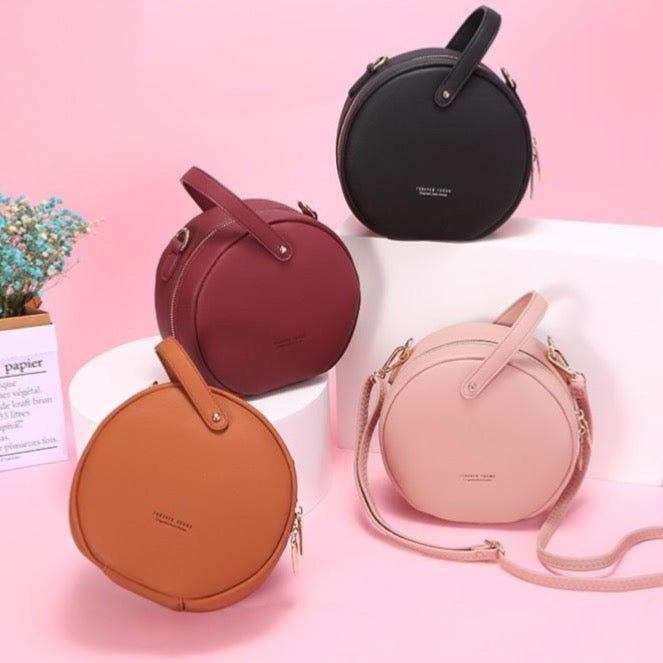 Round Messenger Handbag Collection