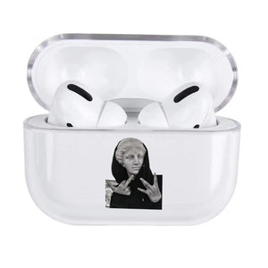 Abstract Arts Clear AirPods Case