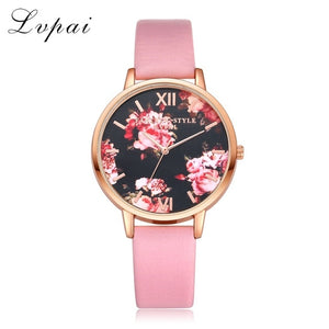 Floral Design Wristwatch Collection