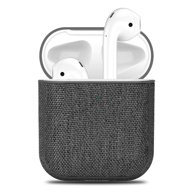 Canvas Textured AirPods Case Collection