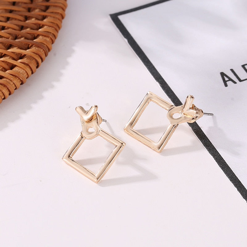 Minimalist Geometric Earring Collection