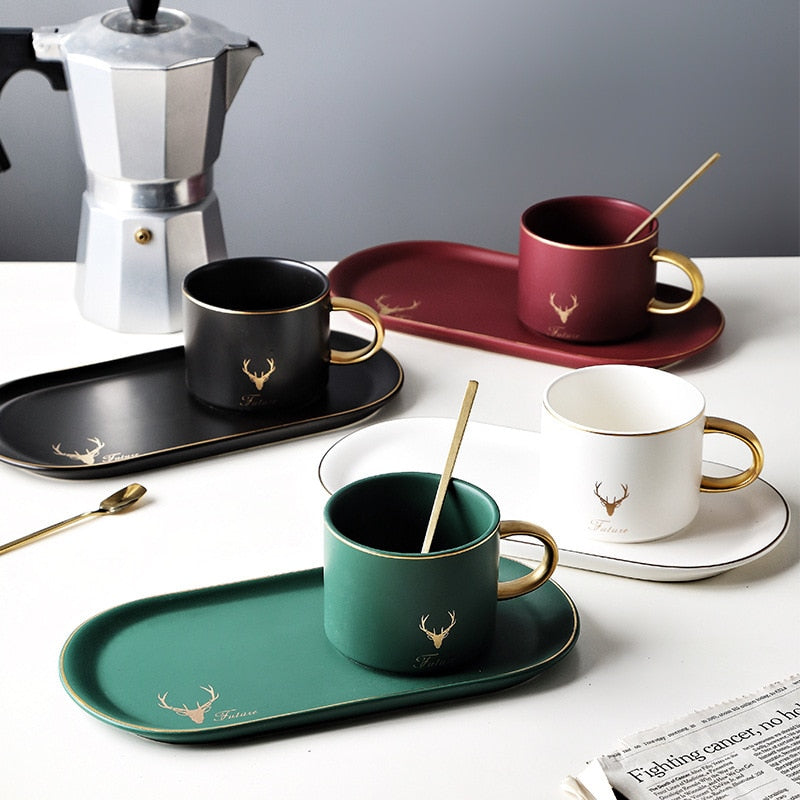 Minimalist Nordic Coffee Set