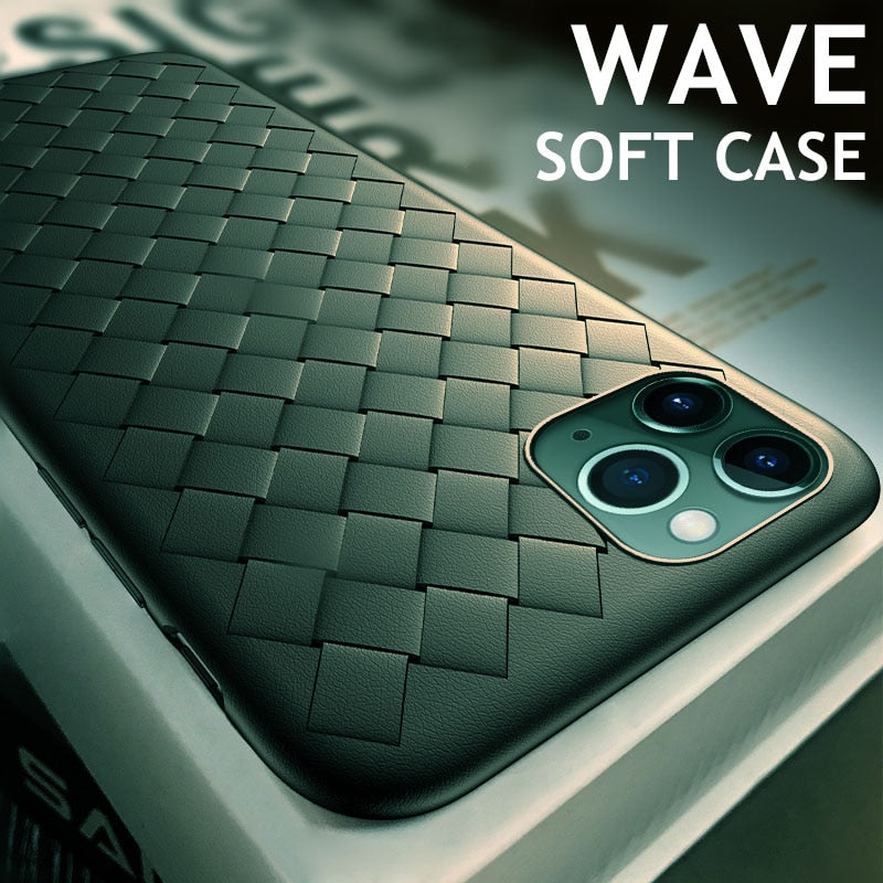 Breathable Weave Silicone iPhone Case Collection
