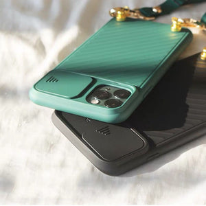 Posh Lanyard iPhone Case with Camera Slide Protection
