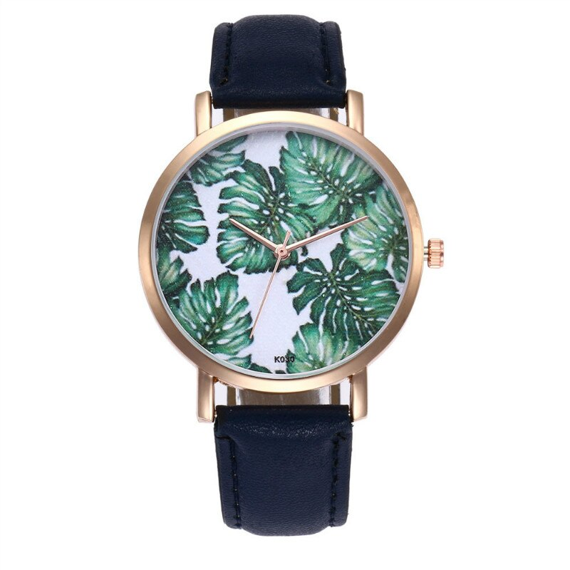 Gold Leaf Design Watch