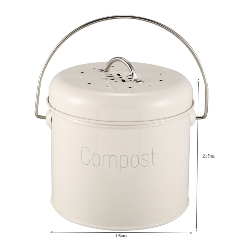 Countertop Compost Collection Bin