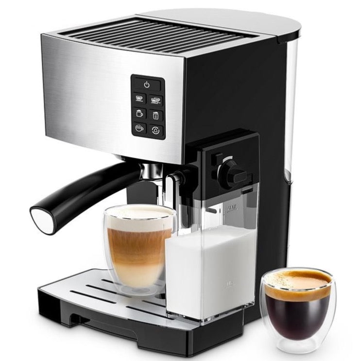 19-Bar Pressure Espresso Machine