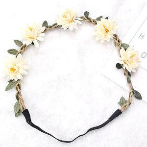 Floral Garland Headband Collection