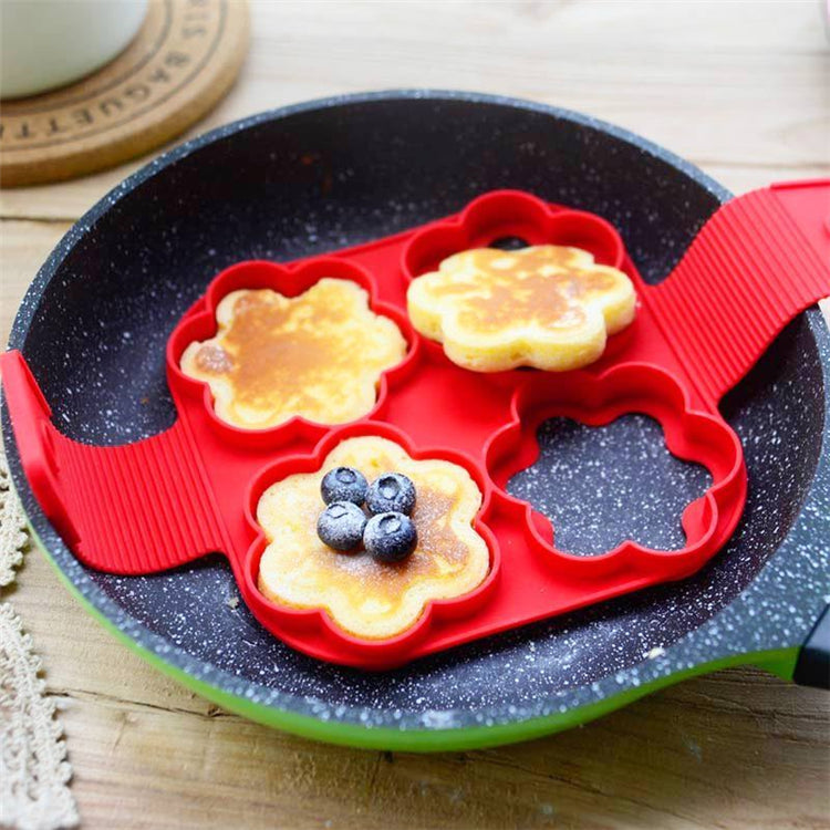 Pancake / Omelette Heat-Resistant Silicone Mold