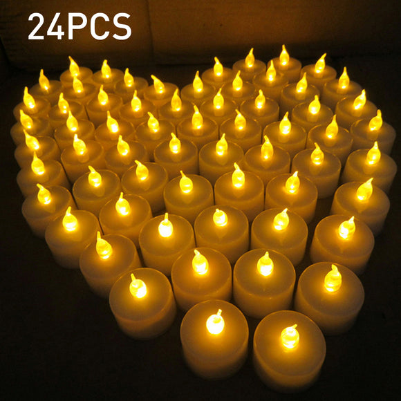 Creative LED Candles 24pcs Candle Led Lights