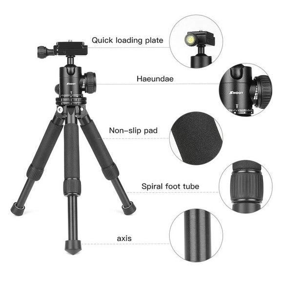 Lightweight Mini Camera Tripod Tabletop