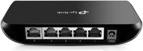 TP-Link 5 Port Gigabit Ethernet Network Switch | Ethernet Splitter | Plug-and-Pl