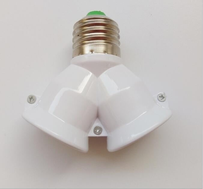 E27 To 3/4/5 in 1 E27 Base LED Converter Adapter Socket Splitter Light Lamp Bulb Holder Screw