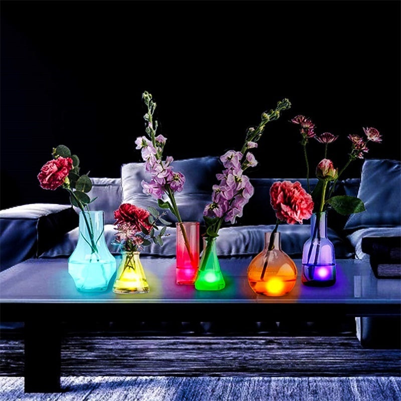2019 New IR Remote Control 13LED IP67 Waterproof RGB Led Underwater Light Pond Submersible Swimming Pool Light for Wedding Party