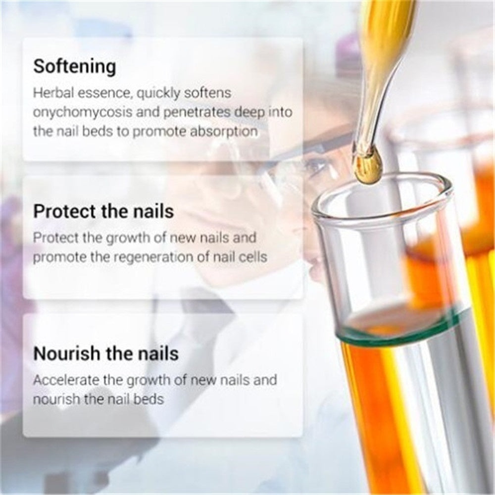 10ML Nail Repair Essence Fungal Nail Treatment Removal Onychomycosis Nail Toe Nourishing Hand and Foot Care