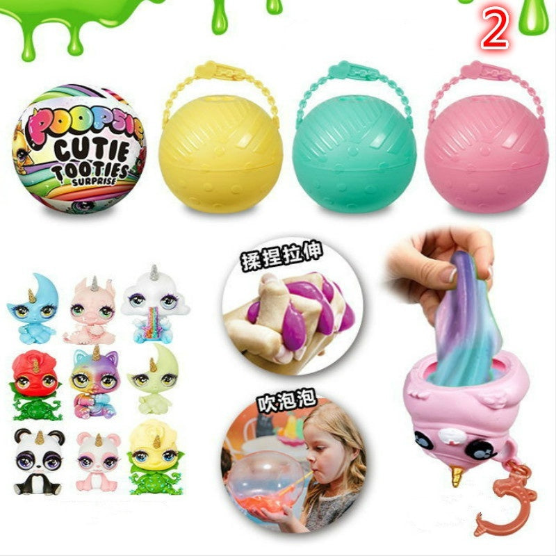 11 Style Surprise Doll Blind Box Slime Toy Poopsie Slime Surprise Kids Toys