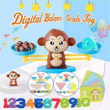 Load image into Gallery viewer, Early Learning Digital Balance Scale Toy Children Enlightenment Digital Addition and Subtraction Math Scales Toys