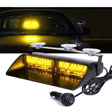 Load image into Gallery viewer, New 1pc Windshield 16 Led Strobe Light Car Flash High Power Strobe Light