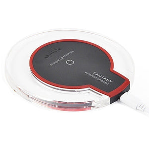 Universal Qi Wireless Charging Pad Charger Pad Mat Dock Receiver for IPhone X/8/8plus/Samsung Galaxy S9/S8/S7/S6/Google Nexus 4/5/6/Nokia Lumia
