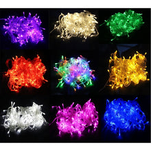 Load image into Gallery viewer, Christmas Lights 10M 20M 30M 50M 100M Decorative Led String Fairy Light 8 Modes Garlands Lights For Wedding Party Holiday Lights EU Plug