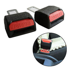 Load image into Gallery viewer, 2 Pcs Car Seat Belt Clip Universal Adjustable Car Seat Belt Clip Extender Safety Buckle