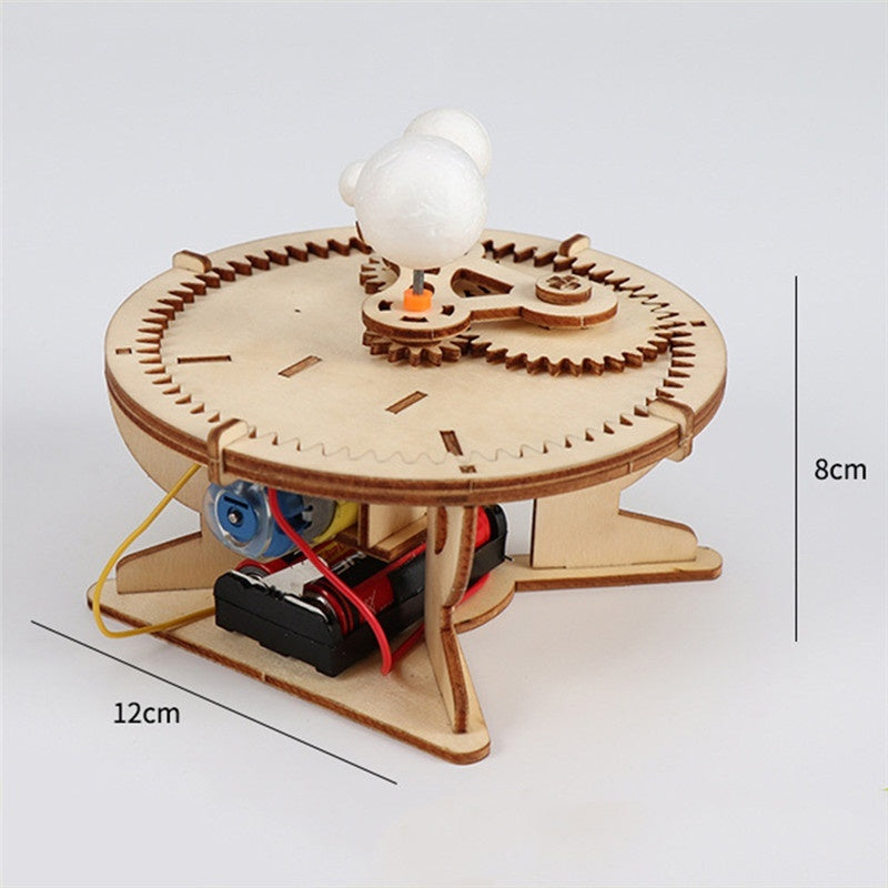 Astronomy Gifts Sun Earth Moon Planet Solar System Model DIY Kid Science Geography Toys for Kids Education School Teaching Tools