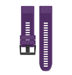New Suitable for 20mm 22mm 26mm QuickFit strap for Garmin Fenix 6 6X 6S / 5S 5X 5 Plus 3HR silicone strap and pioneer 945 935 / instinct strap