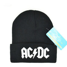 Load image into Gallery viewer, Men Women Winter Warm Beanie Hat Rock ACDC AC/DC Rock Band Warm Winter Soft Knitted Beanies Hat Cap For Adult Men Women