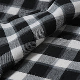 Plaid shirt new autumn and winter flannel red checkered shirt men's casual shirt long-sleeved shirt men's cotton men's check shirt