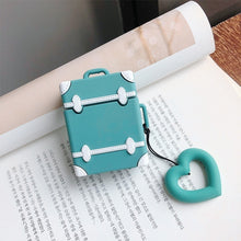 Load image into Gallery viewer, Cute Cover For AirPods Case Suitcase Trunk Luggage Case For Apple Airpods 2 Earphone Protective