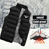 Autumn and Winter Warm Casual Sleeveless Sports and Outdoor Cotton Vests