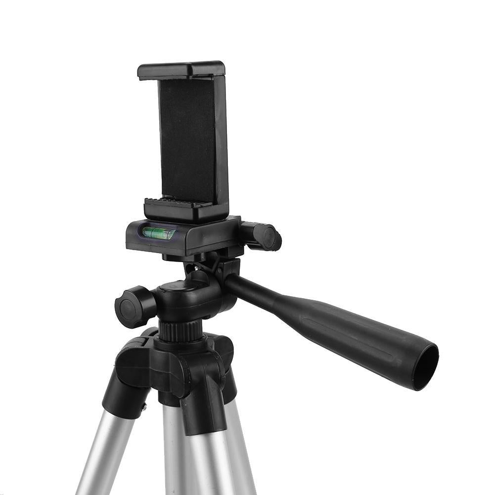 Flexible Mini Camera Tripod With Remote Control Rotatable Monopod Phone Clip