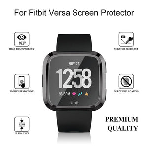 Ultra-Slim Electroplate Transparent TPU Soft Case Cover for Fitbit Versa 2 Smart Watch Accessories Protective Shell