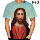 God the Cross Fashion 3D T-shirt Jesus Christian Men's T-shirts