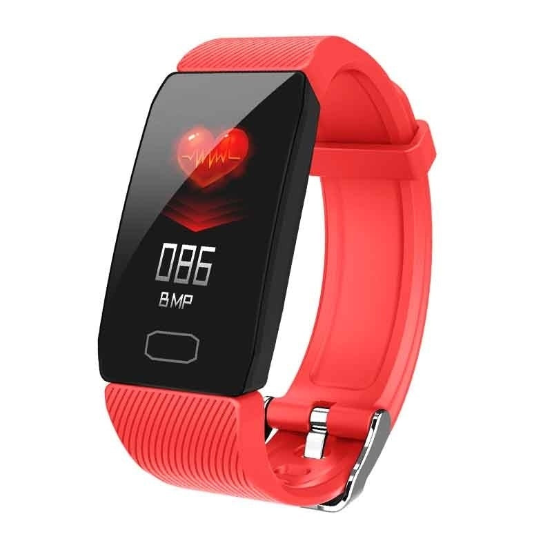 2019 New Men Smart Watch IP67 Waterproof Heart Rate Blood Pressure Blood Oxygen Monitor Fitness Tracker Wristband Bluetooth Wristwatch Smart Band Sport Smartwatch for IOS Android
