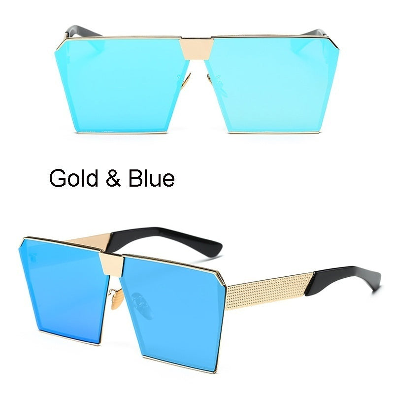 GIRL 2020 New Color Women Sunglasses men Unique Oversize Square UV400 Gradient Vintage eyeglasses frames sun glasses for Women