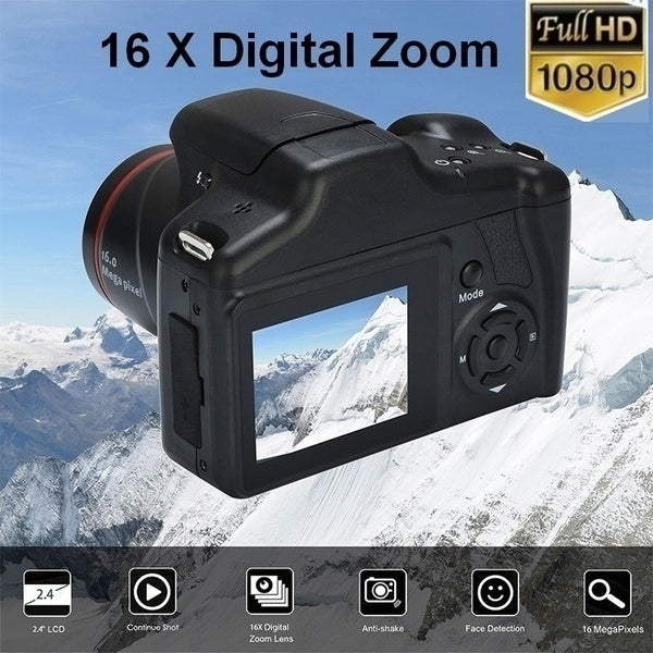 2020 New Update Professional Dvr Camera Full 1080P HD Camera 16x Zoom 16MP Digital Camera Photography Support 32GB SD Card