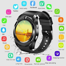 Load image into Gallery viewer, Wireless Bluetooth Touch Screen Smart Watch Reminder Monitor for IOS Android Anti-lost Camera PK Apple Watch Samsung Watch Huawei Watch