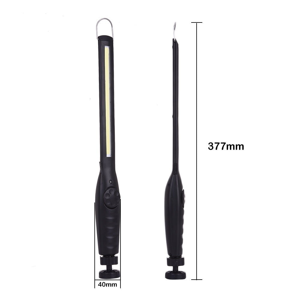 2020NEW!!! Portable COB Torch Worklights USB Rechargeable LED Work Light Magnetic COB Lanterna Hook Hanging Lamp Car Inspect Lights