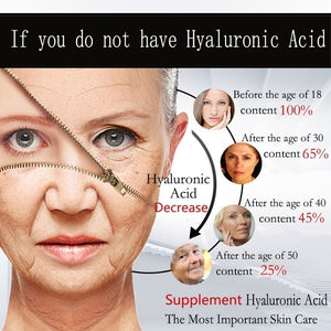 5/10/30ml Hyaluronic Acid: A Key Molecule in Skin Aging.Anti-aging,Wrinkles Removal, Hydrating Face Natural Beauty Products,Hyaluronic Acid Serum Treatments