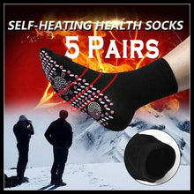 Load image into Gallery viewer, 1/2/3/5 PairsTourmaline Magnetic Socks Self Heating Therapy Magnetic Socks Unisex