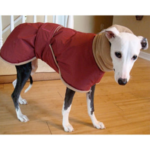 5 Colors Dog Clothes Pet Medium and Large Dog Winter Warm Hooded Waterproof Windproof Clothes Italian Greyhound Warm Jacket Clothes Dog Wrap Vest Comfortable Pet Clothes
