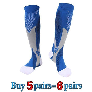 Wholesale Compression Socks for Men Women Running Socks for Running Nurses Shin Splints Flight Travel Compression Socks Men 20-30 Mmhg